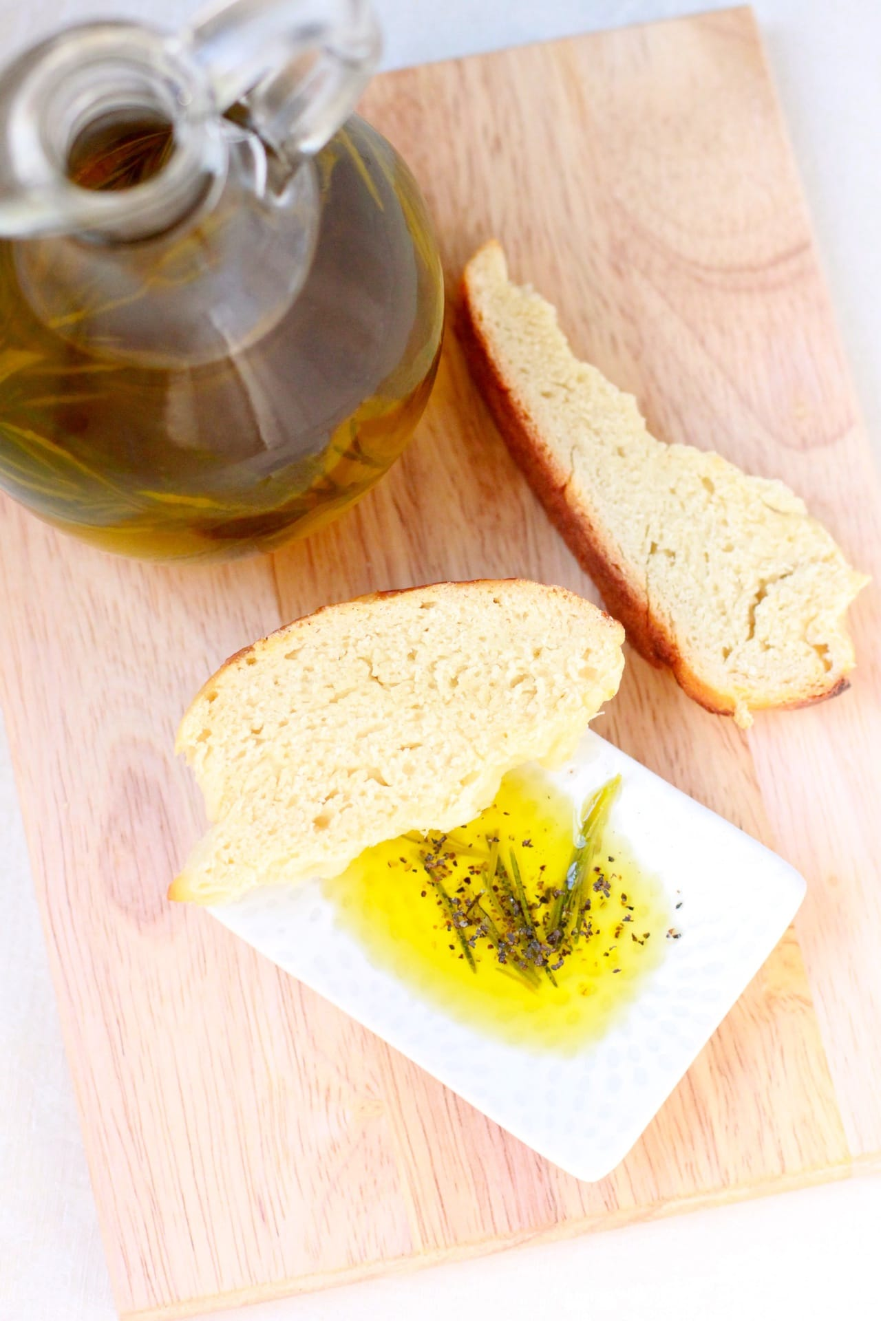 Rosemary and Garlic Infused Olive Oil | Playful Cooking