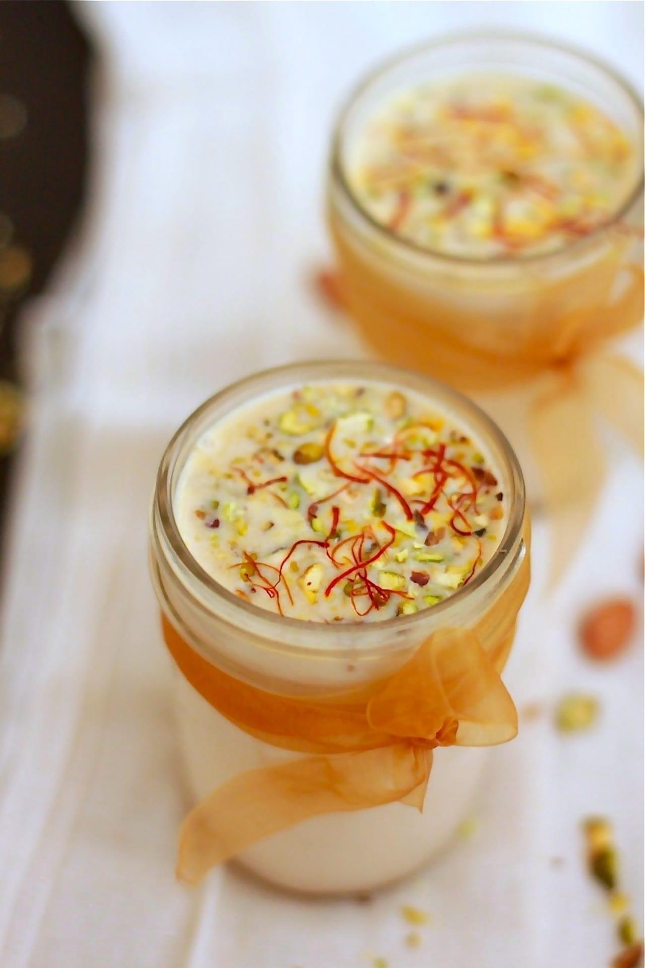Thandai – Spicy Almond Milk