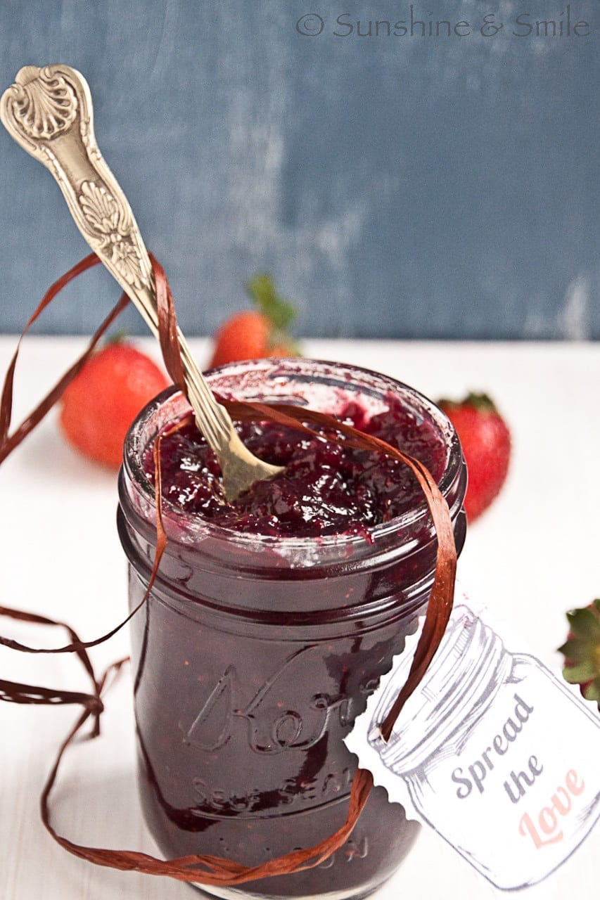 Mixed Berry Jam – Enjoy it fresh or preserve it.