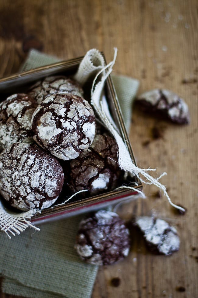 Chocolate Crinkle Cookies Recipe — Dishmaps