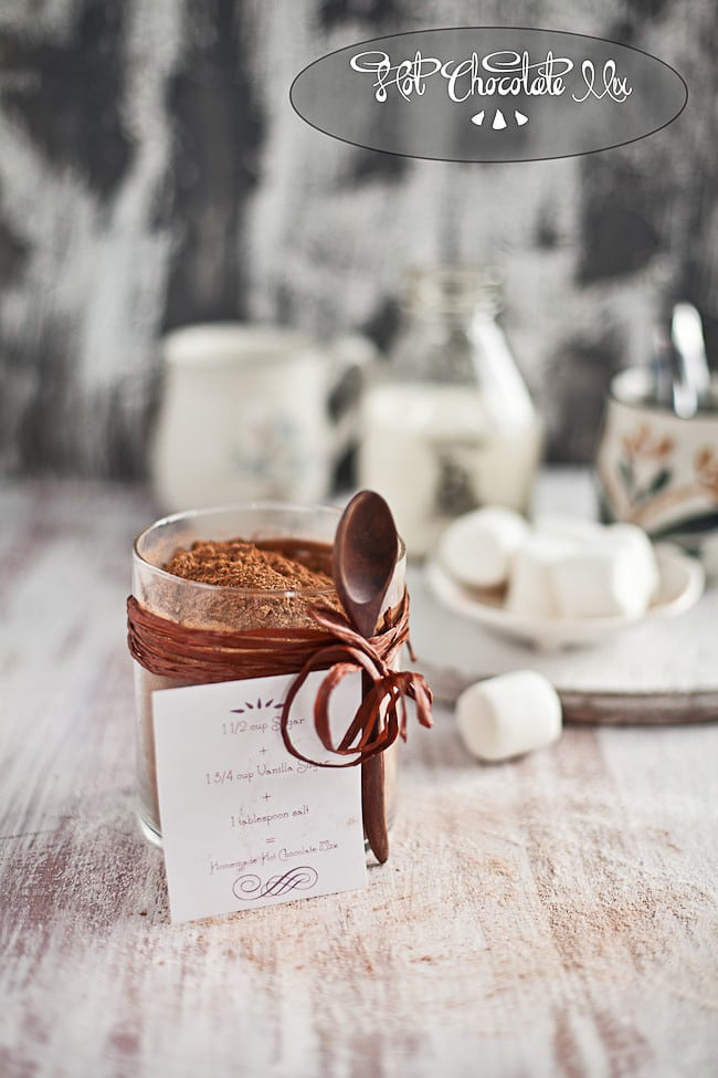 Hot Chocolate Mix : Playful Cooking