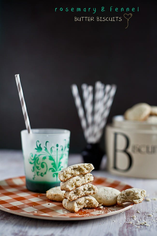 Fennel and Rosemary Butter Biscuits : Playful Cooking