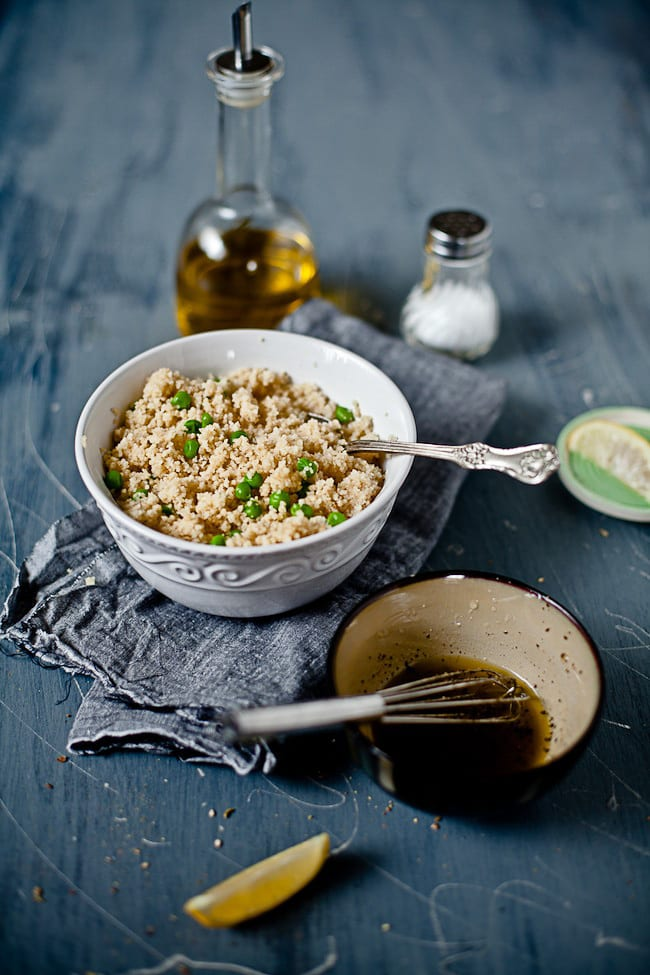 Pea Couscous by Sunshine and Smile