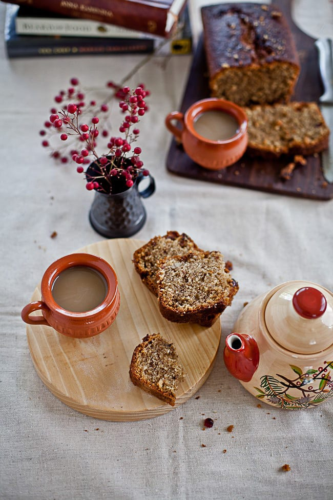 Fruit And Nut Coffee Cake Playful Cooking