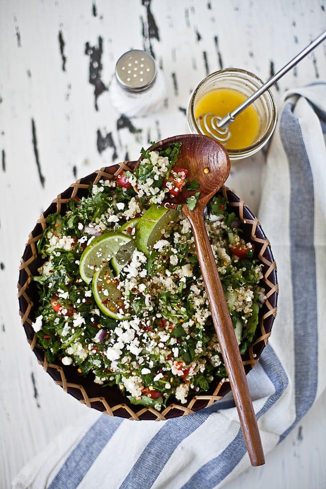 quinoa tabouleh | Sunshine and Smile #tabouleh #quinoa #salad