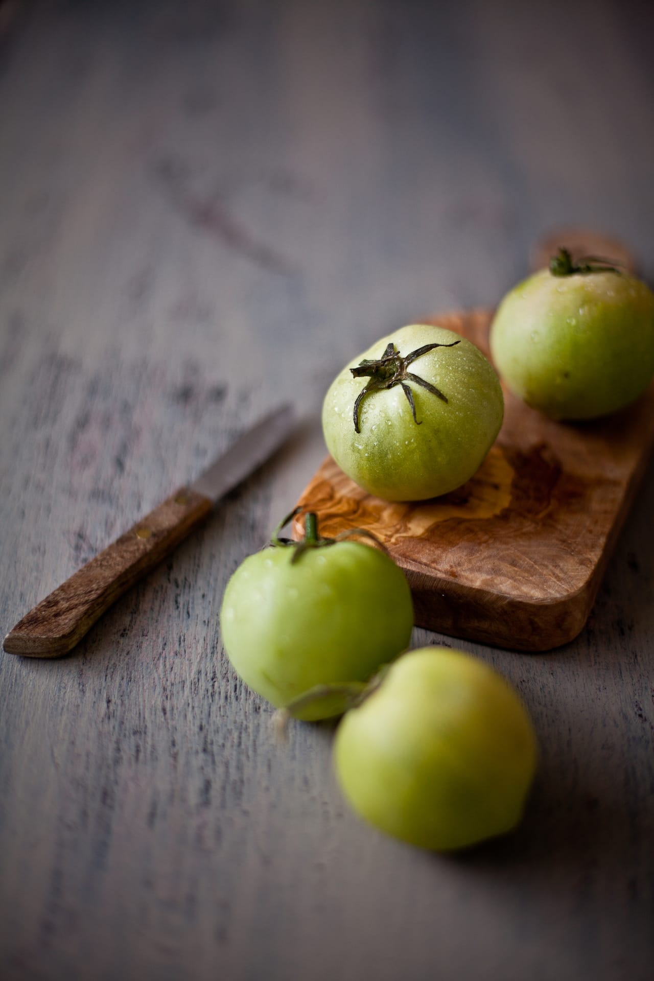 Green Tomatoes | Playful Cooking