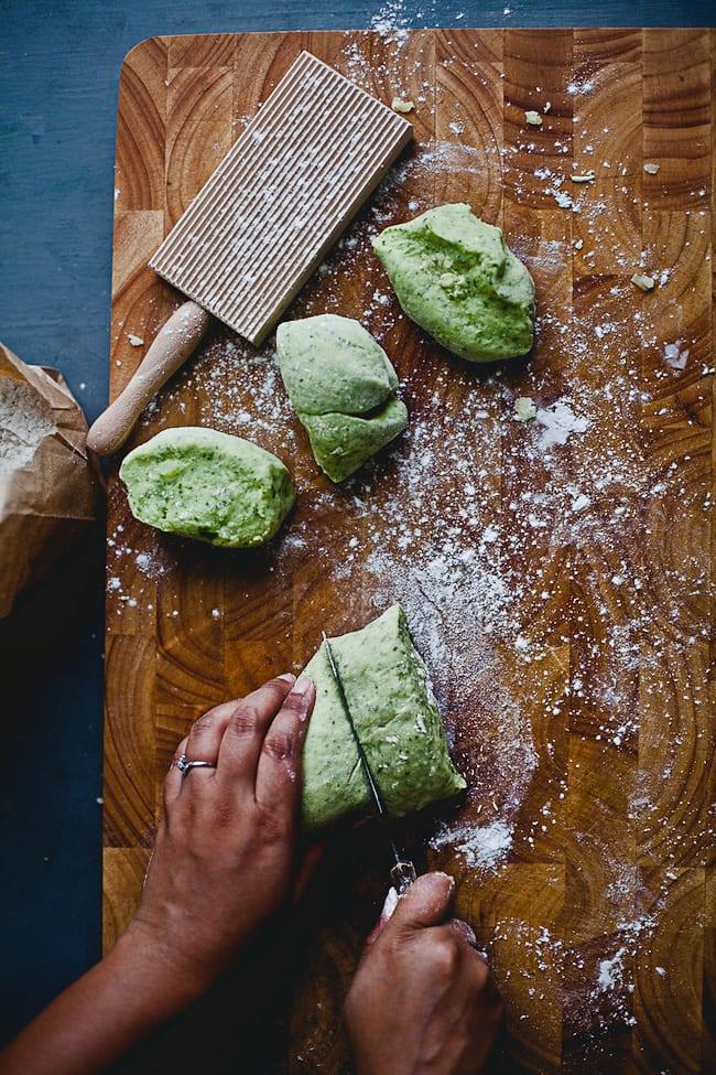 Steps to make Arugula Gnocchi   Playful Cooking