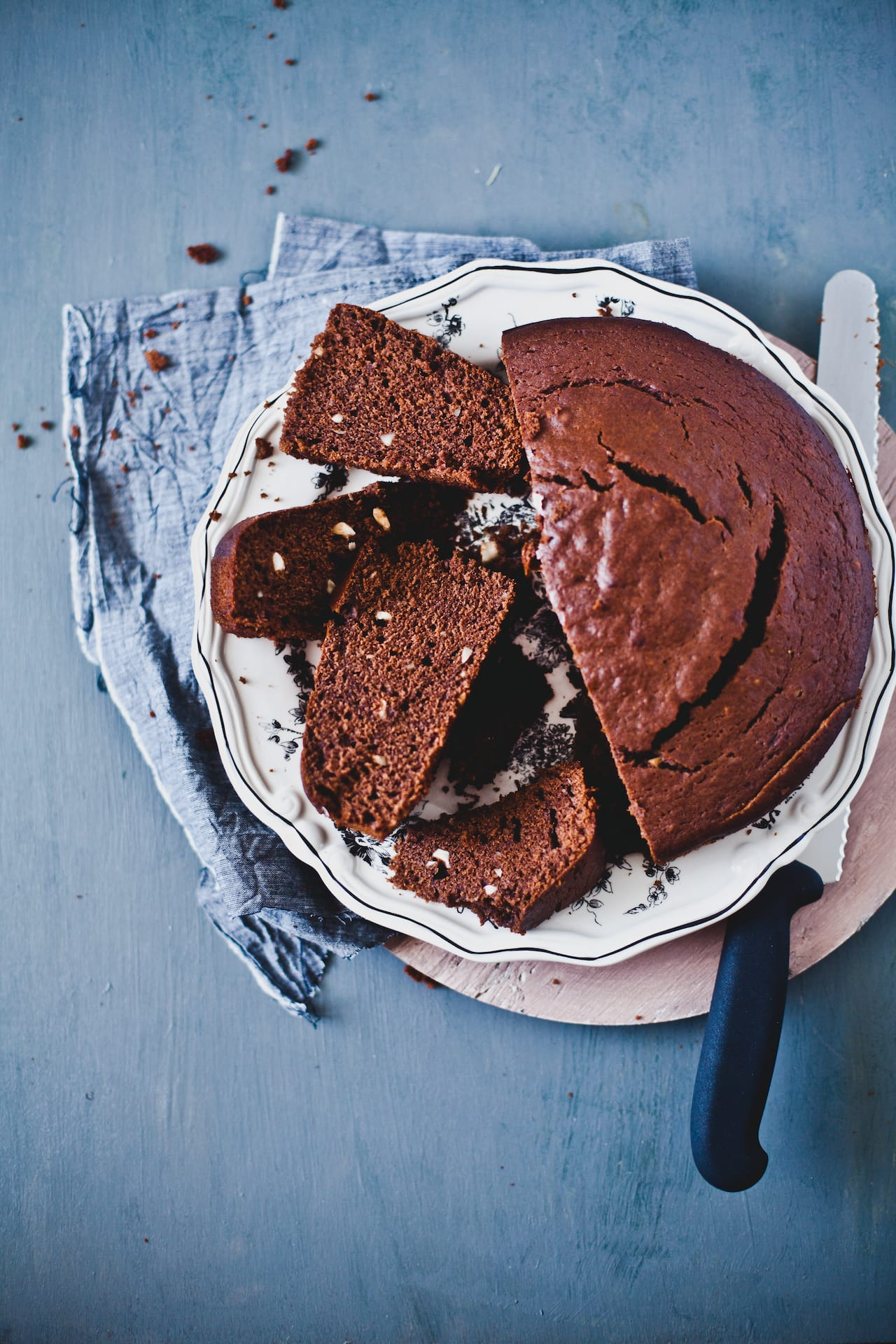 Banana Nutella Cake | Playful Cooking