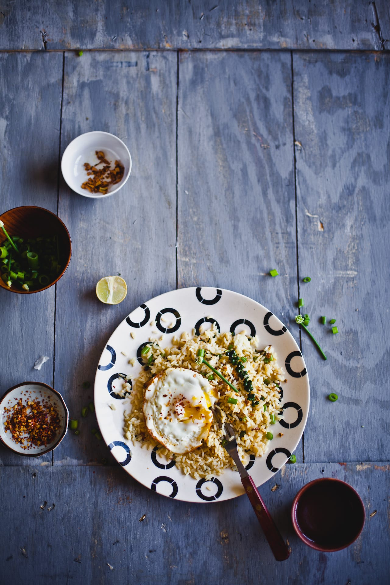 Garlic and Fresh Peppercorn Fried Rice | Playful Cooking