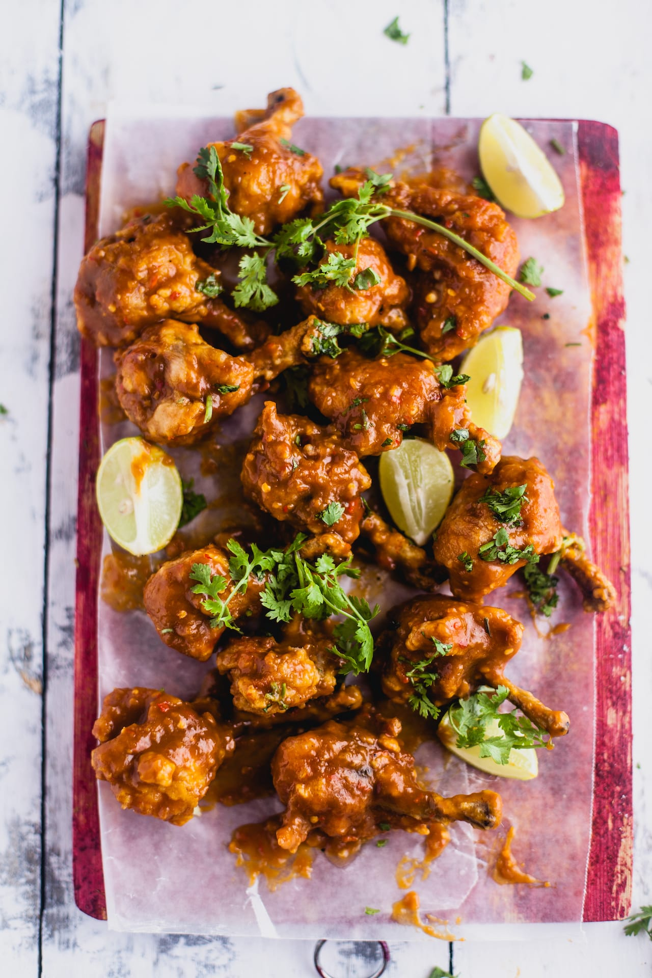 Mango Chili Chicken Lollipop | Playful Cooking