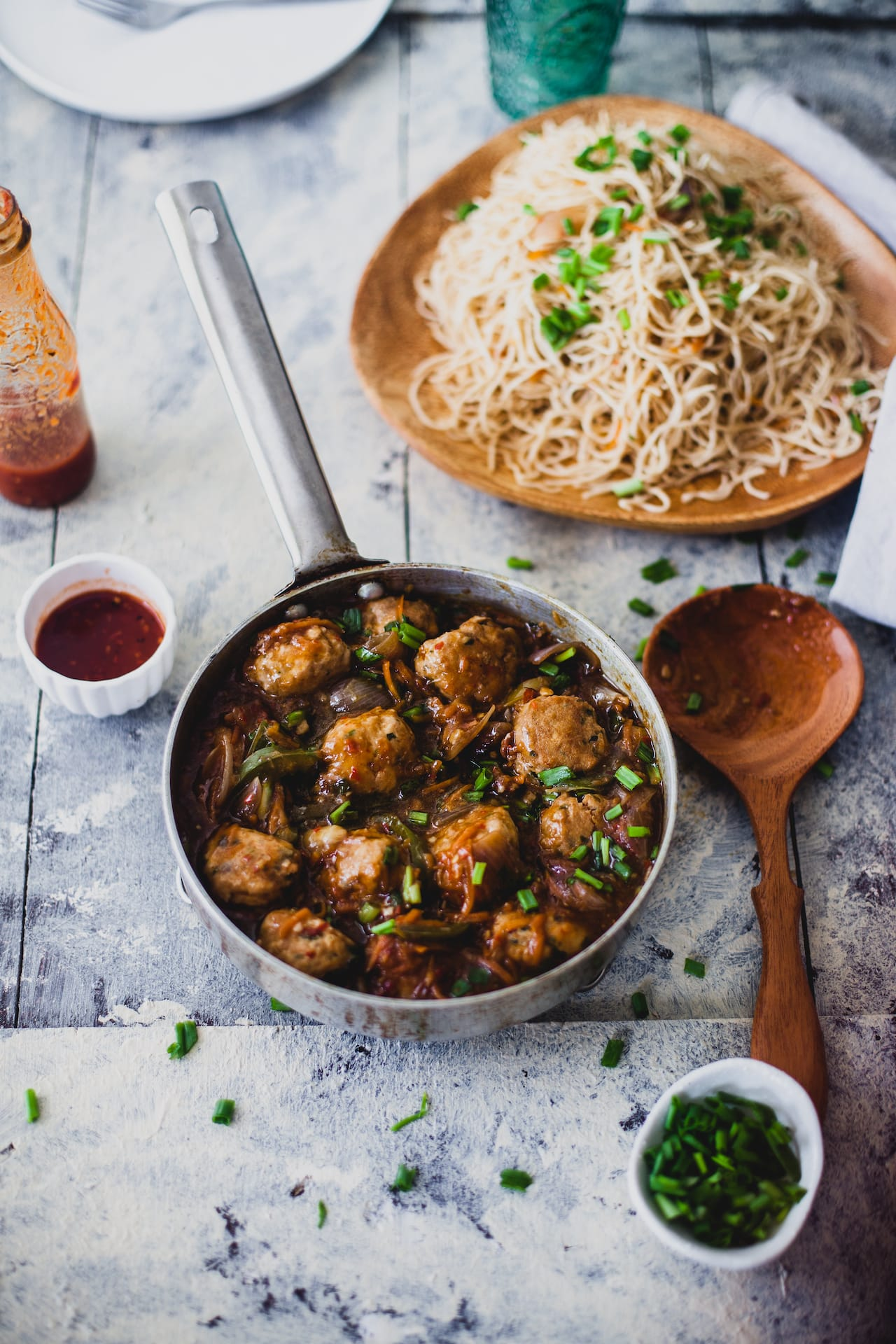 Meat Balls In Hot Garlic Sauce | Playful Cooking