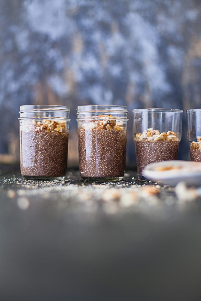 Nutella Chia Pudding | Playful Cooking