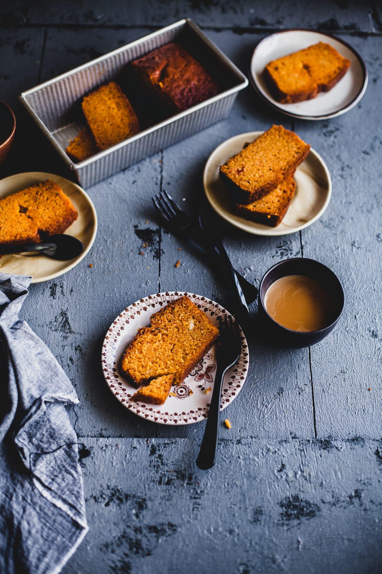Carrot Cardamom Cake | Playful Cooking