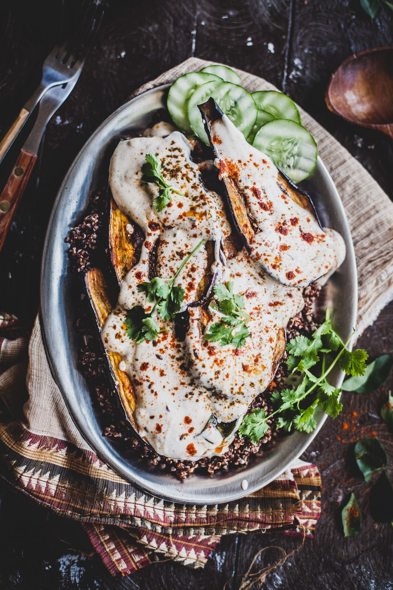 Doi Begun (Eggplant In Spiced Yogurt) | Playful Cooking