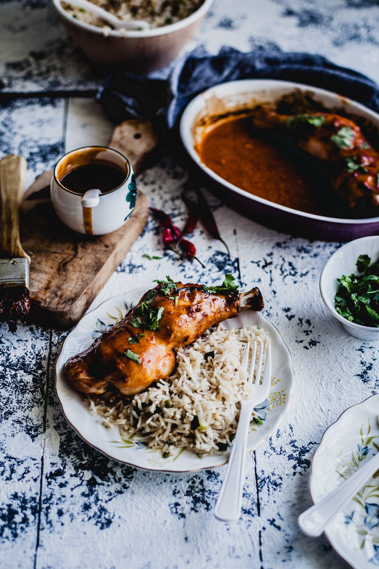 Sweet And Spicy Chicken Thigh   Playful Cooking
