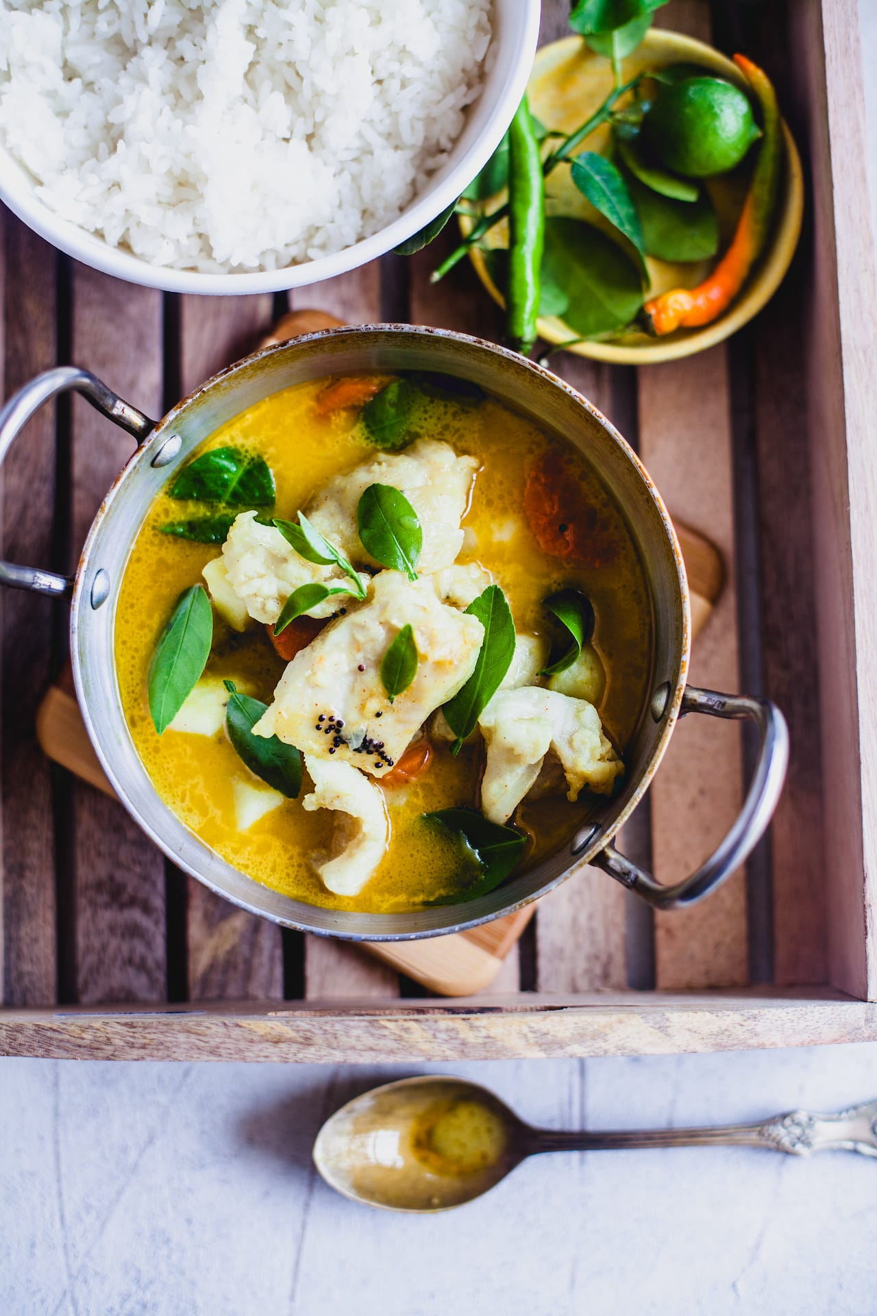 Coconut Lemon Fish Stew | Playful Cooking