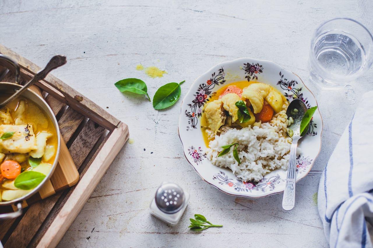 Coconut Lemon Fish Stew   Playful Cooking