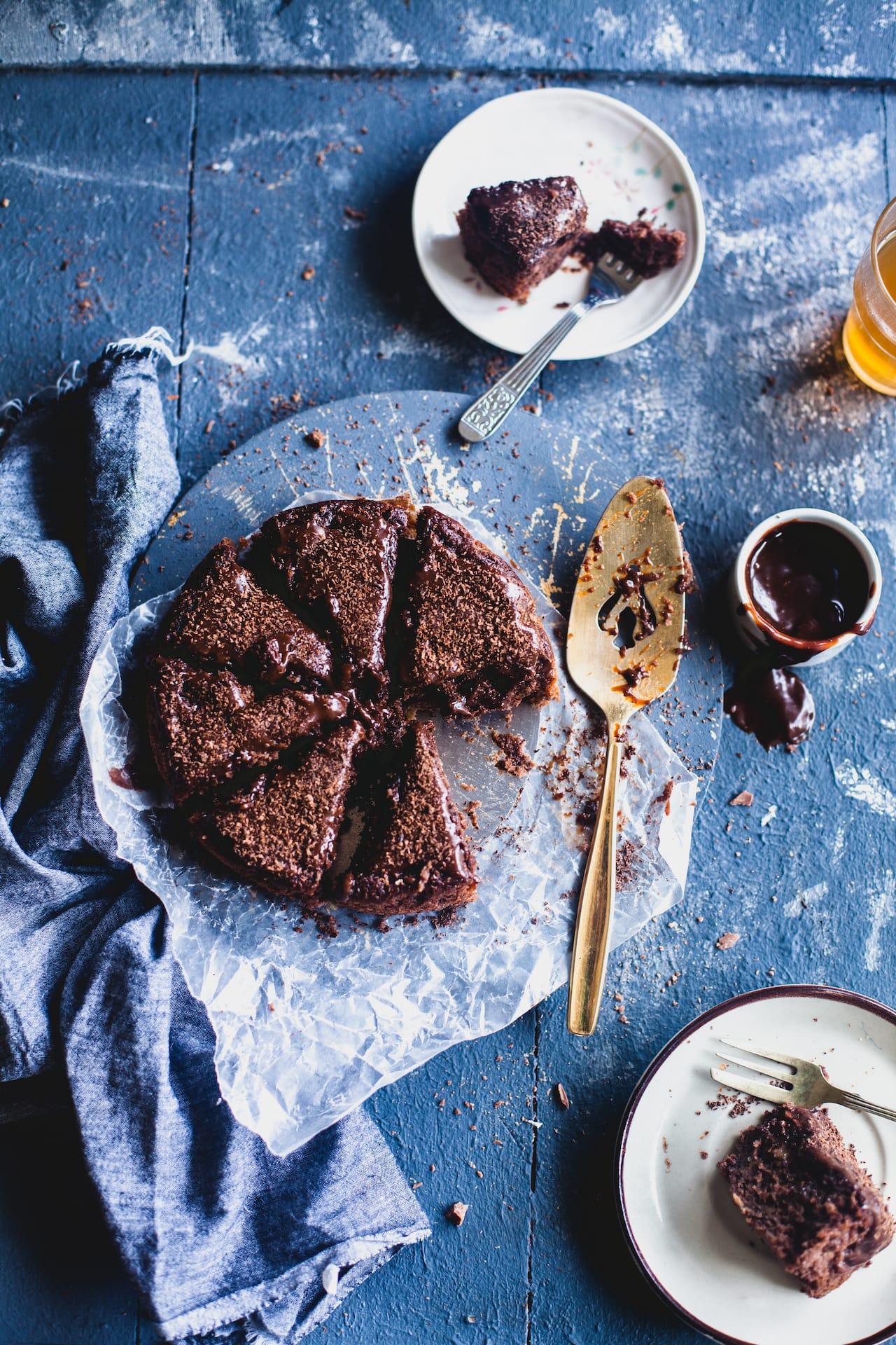 Yogurt Banana Chocolate Cake | Playful Cooking