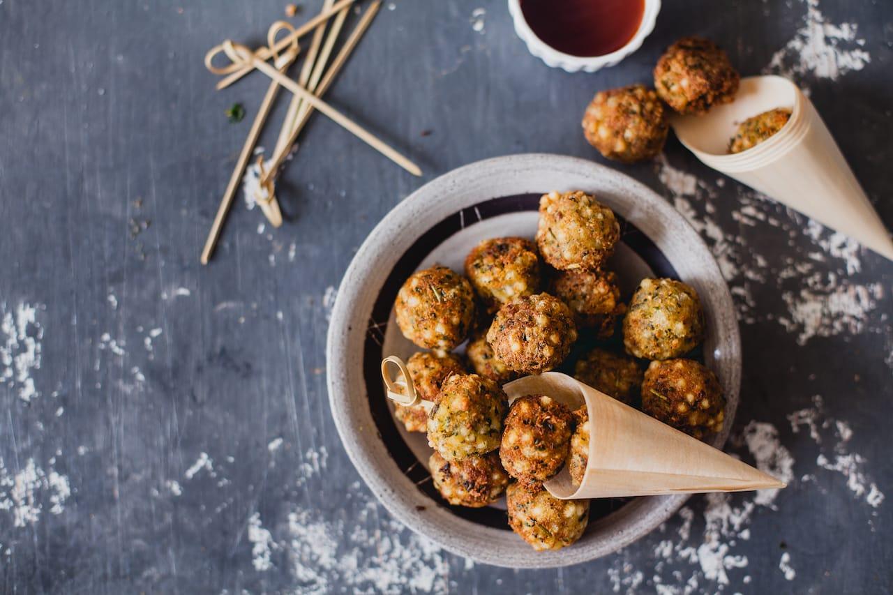 Tapioca Pearls Fenugreek Poppers (Sabudana Methi Vada) | Playful Cooking