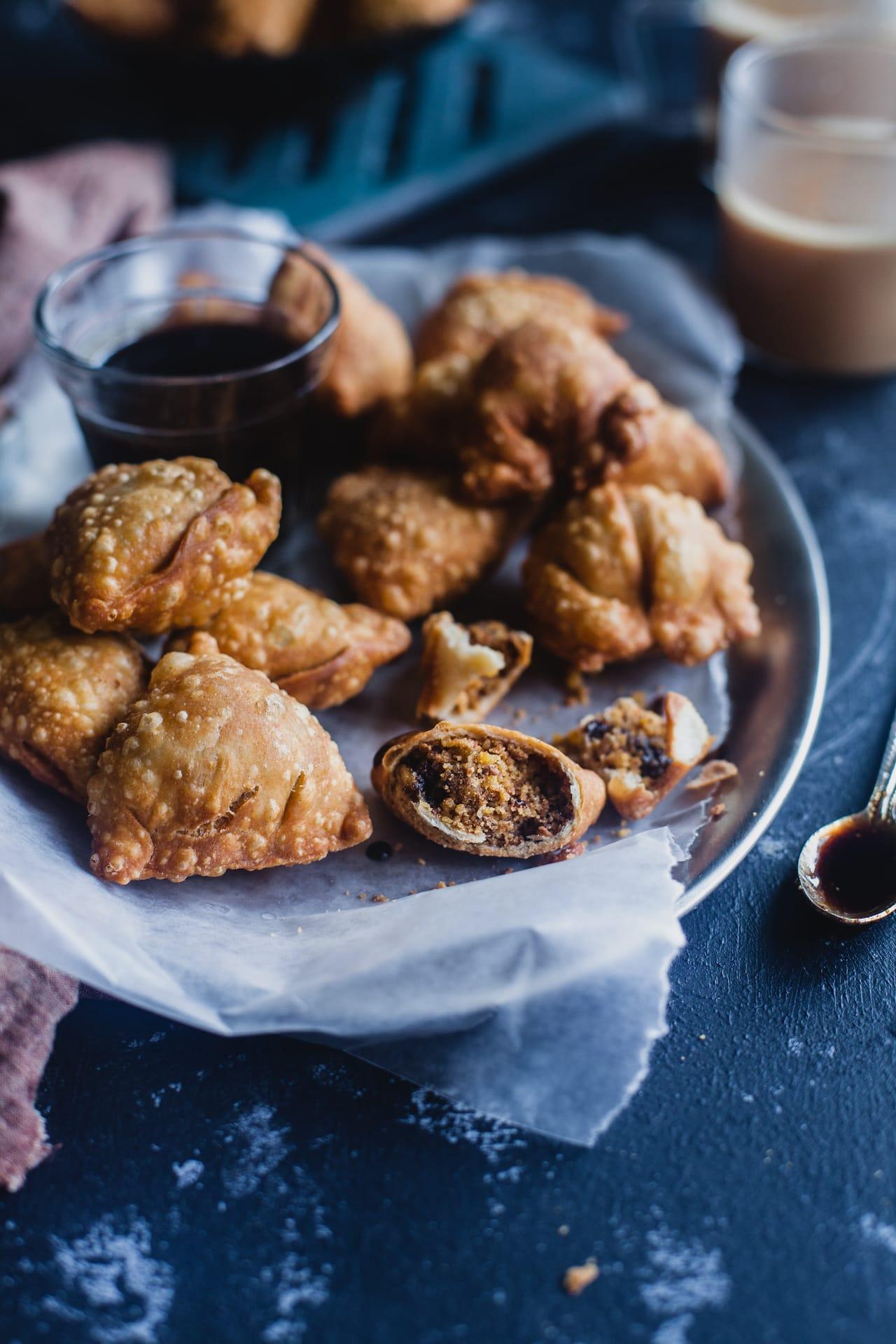 Dry Fruit Samosa | Playful Cooking