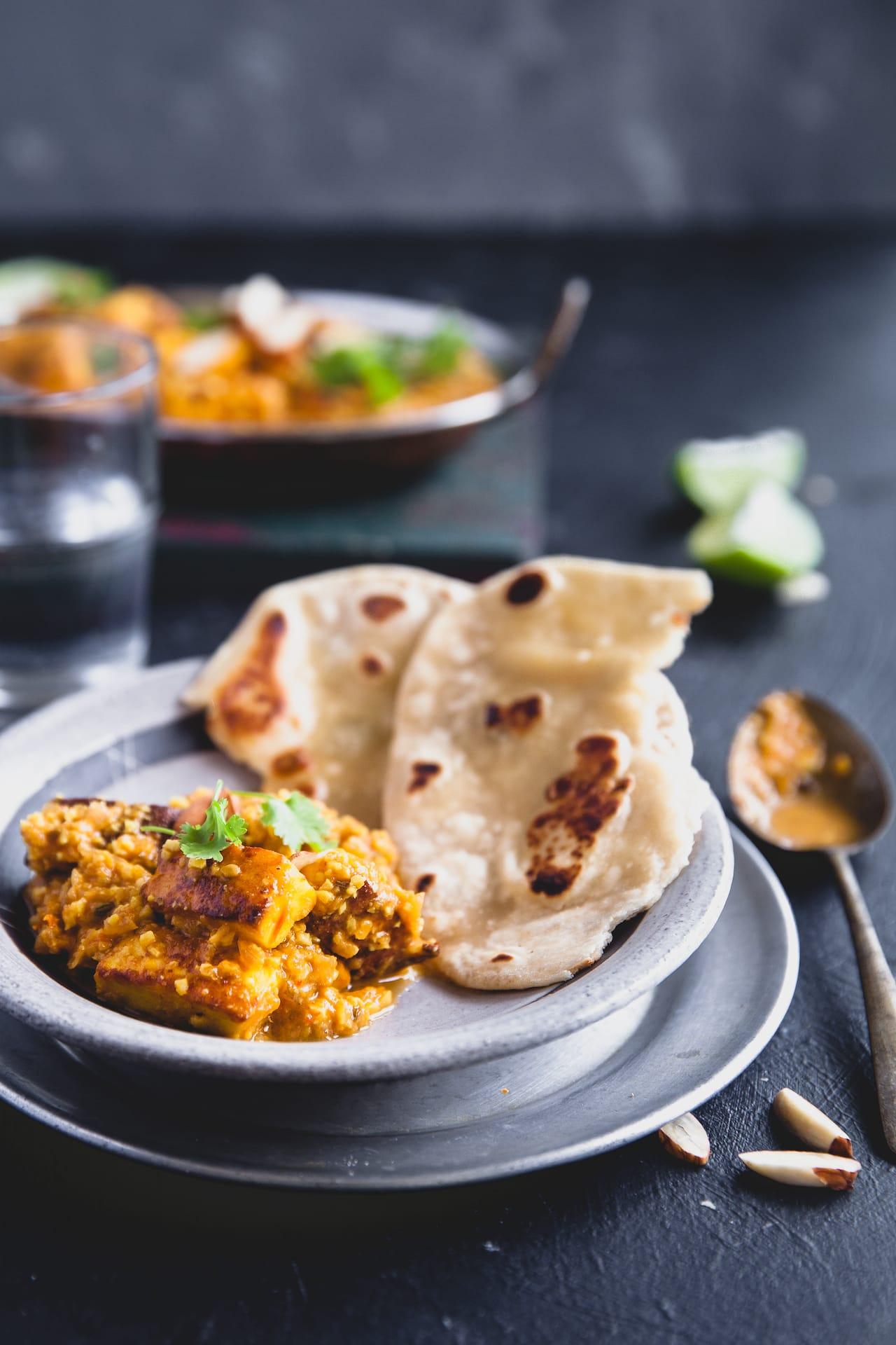 Badami Paneer (Paneer in creamy almond gravy) | Playful Cooking