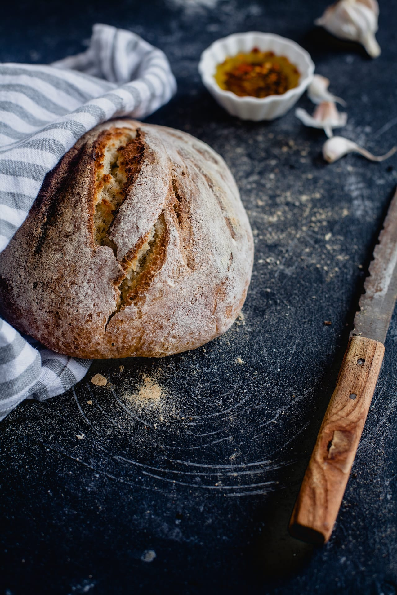Rustic White Bread | Playful Cooking