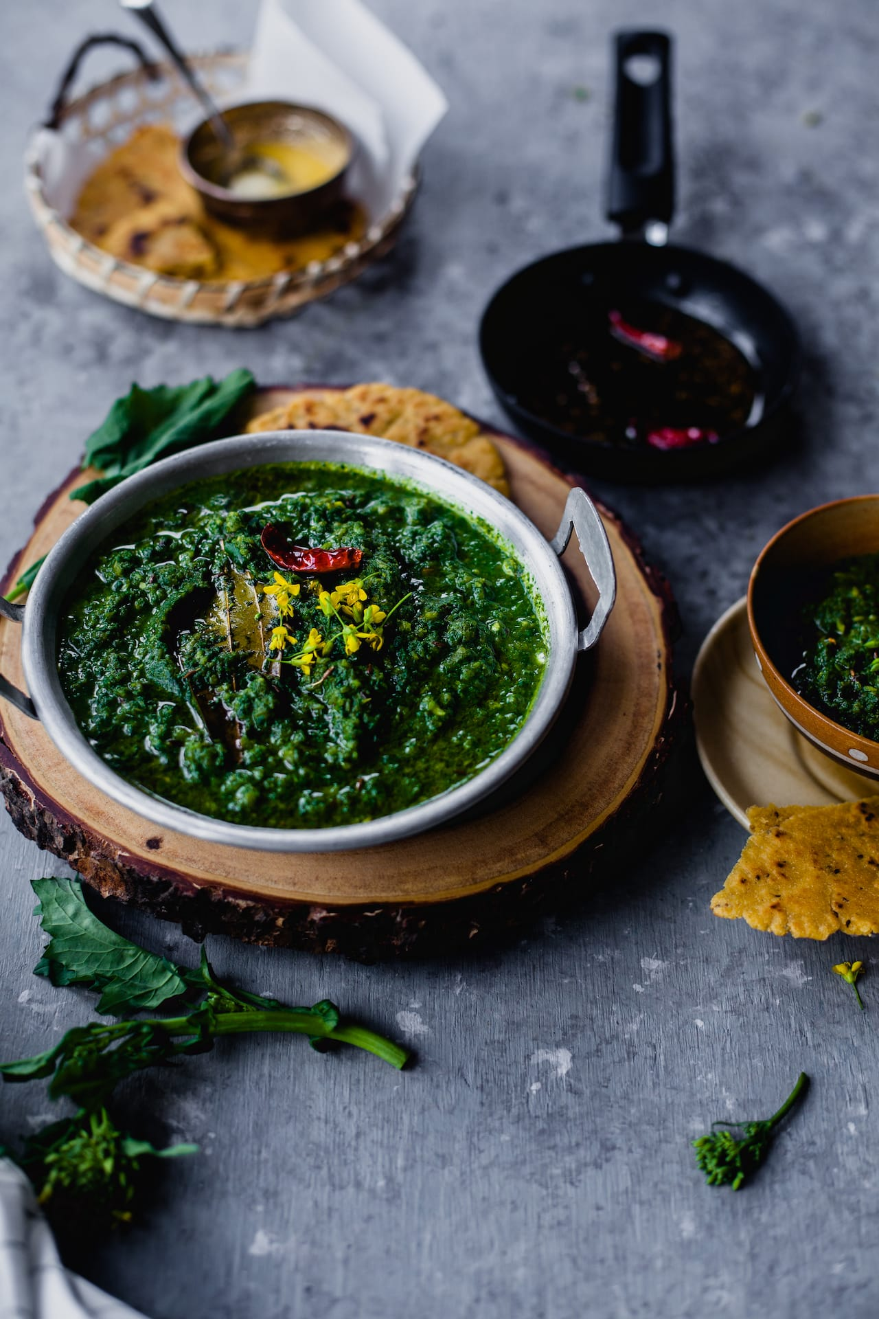 Sarso Ka Saag (Mustard Greens Curry) | Playful Cooking