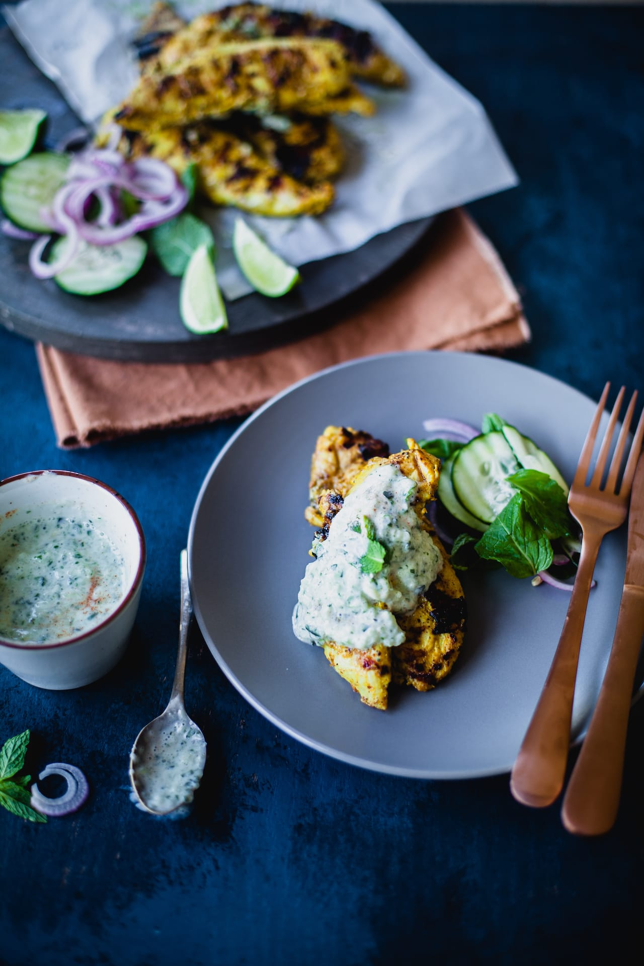Garam Masala Grilled Chicken Tenders | Playful Cooking