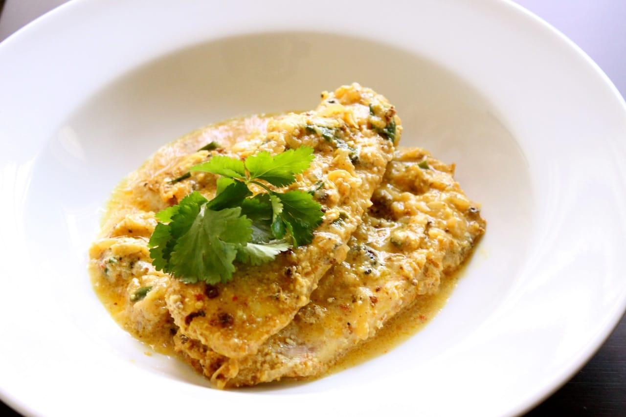 almond crust tilapia