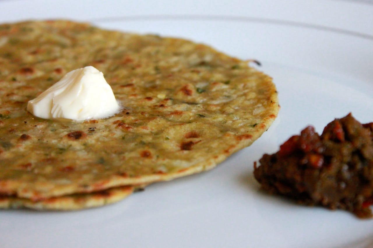 Mooli Paratha/Indian Flat Bread with Radish 2