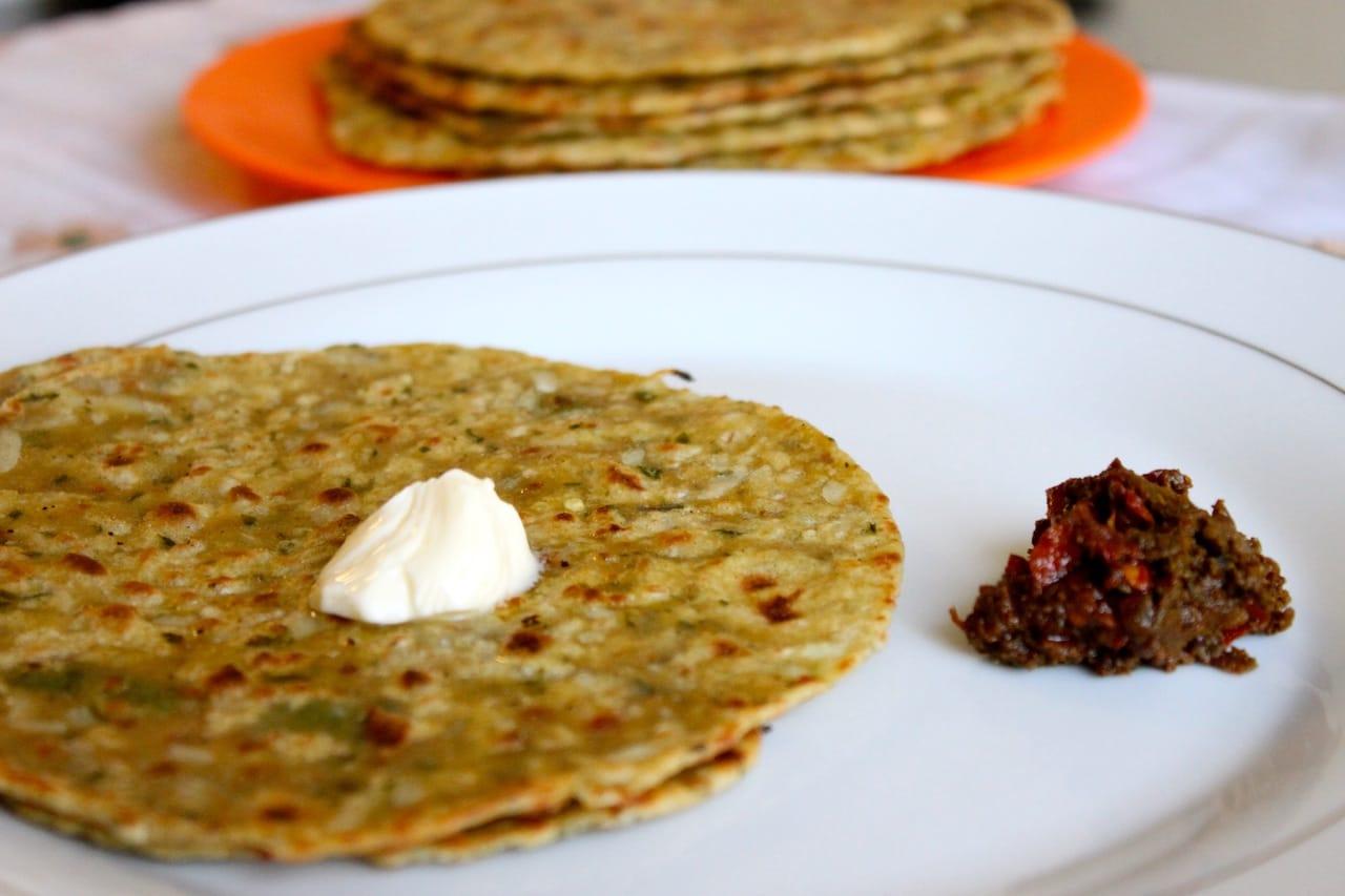 mooli paratha 3