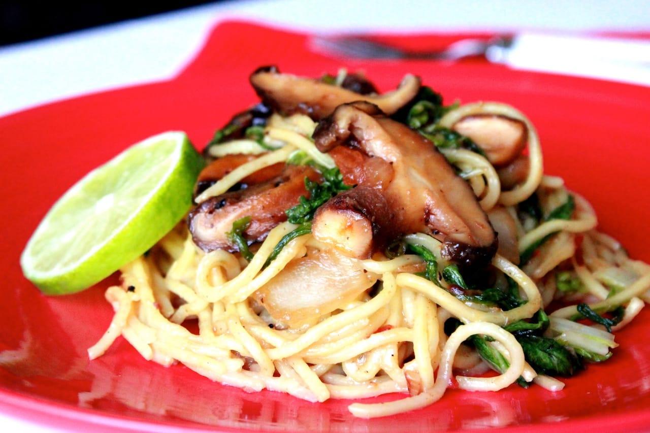 mushroom noodle 1