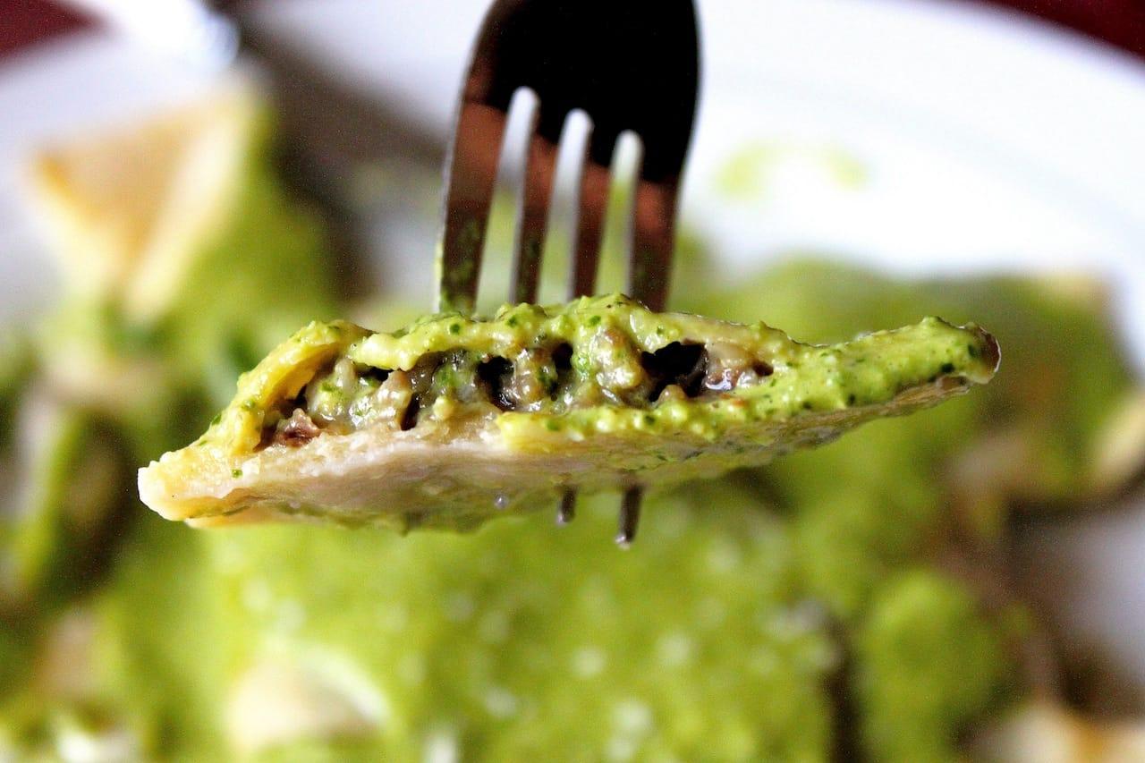 Shrimp Stuffed Ravioli