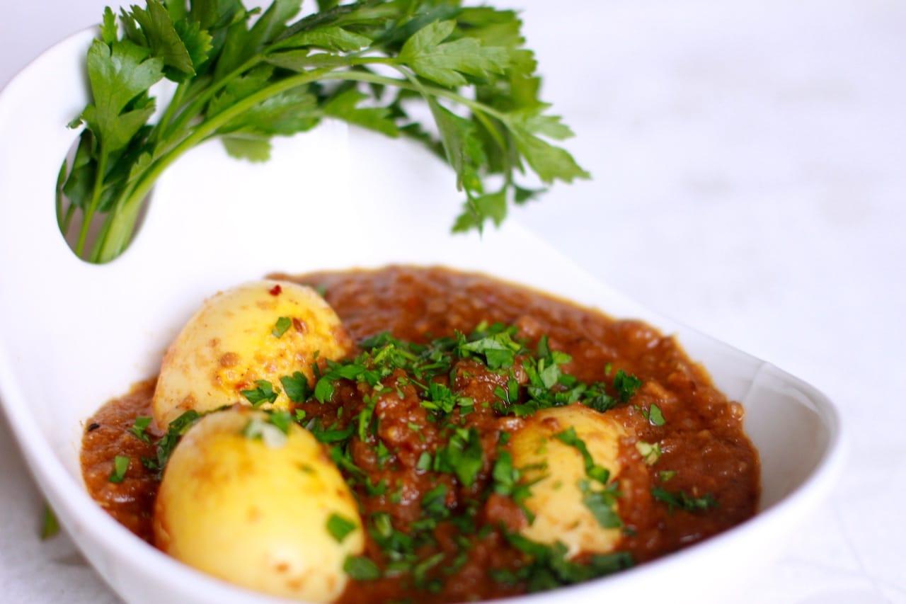Egg Masala 4