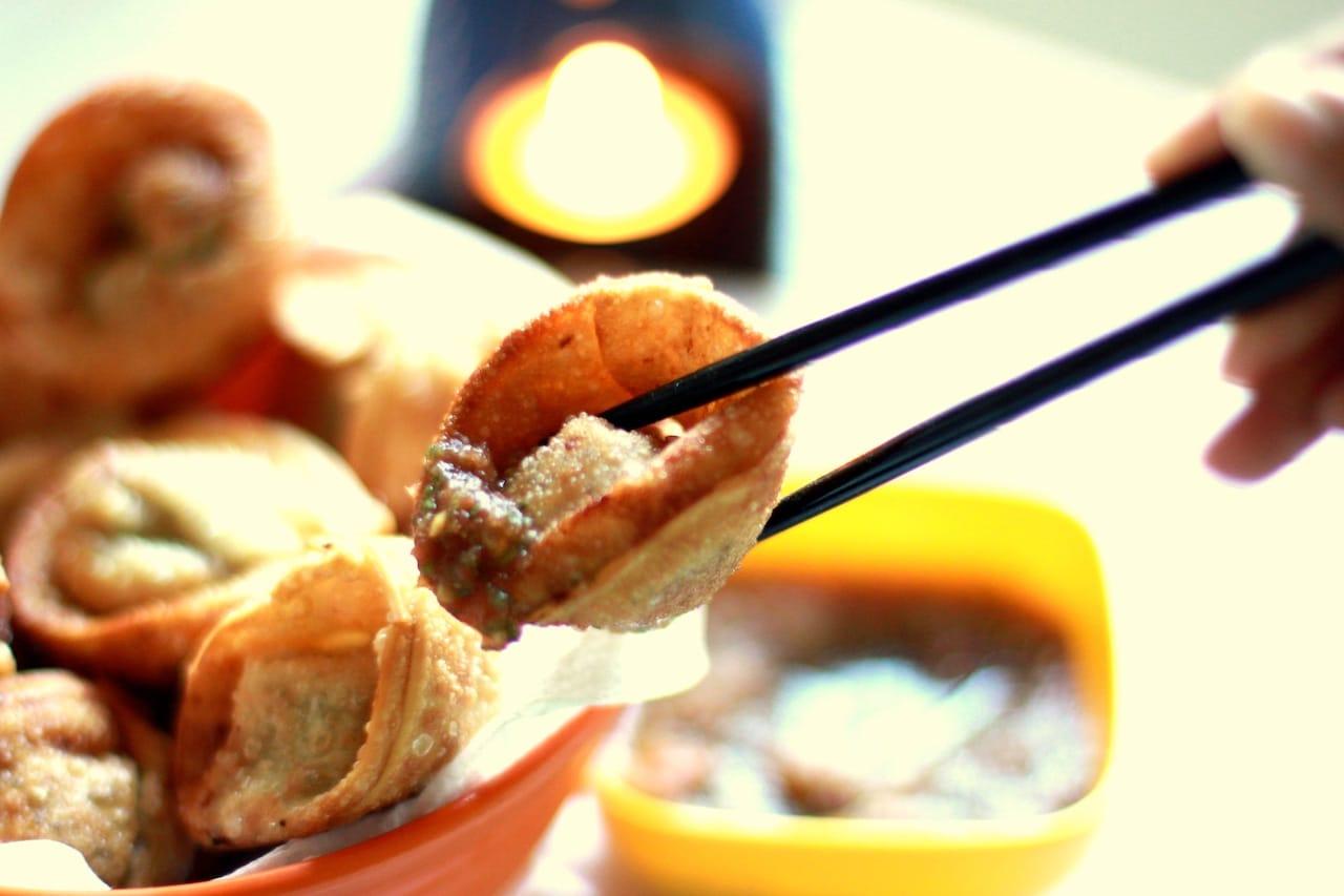 Deep Fried Pork Wonton 3