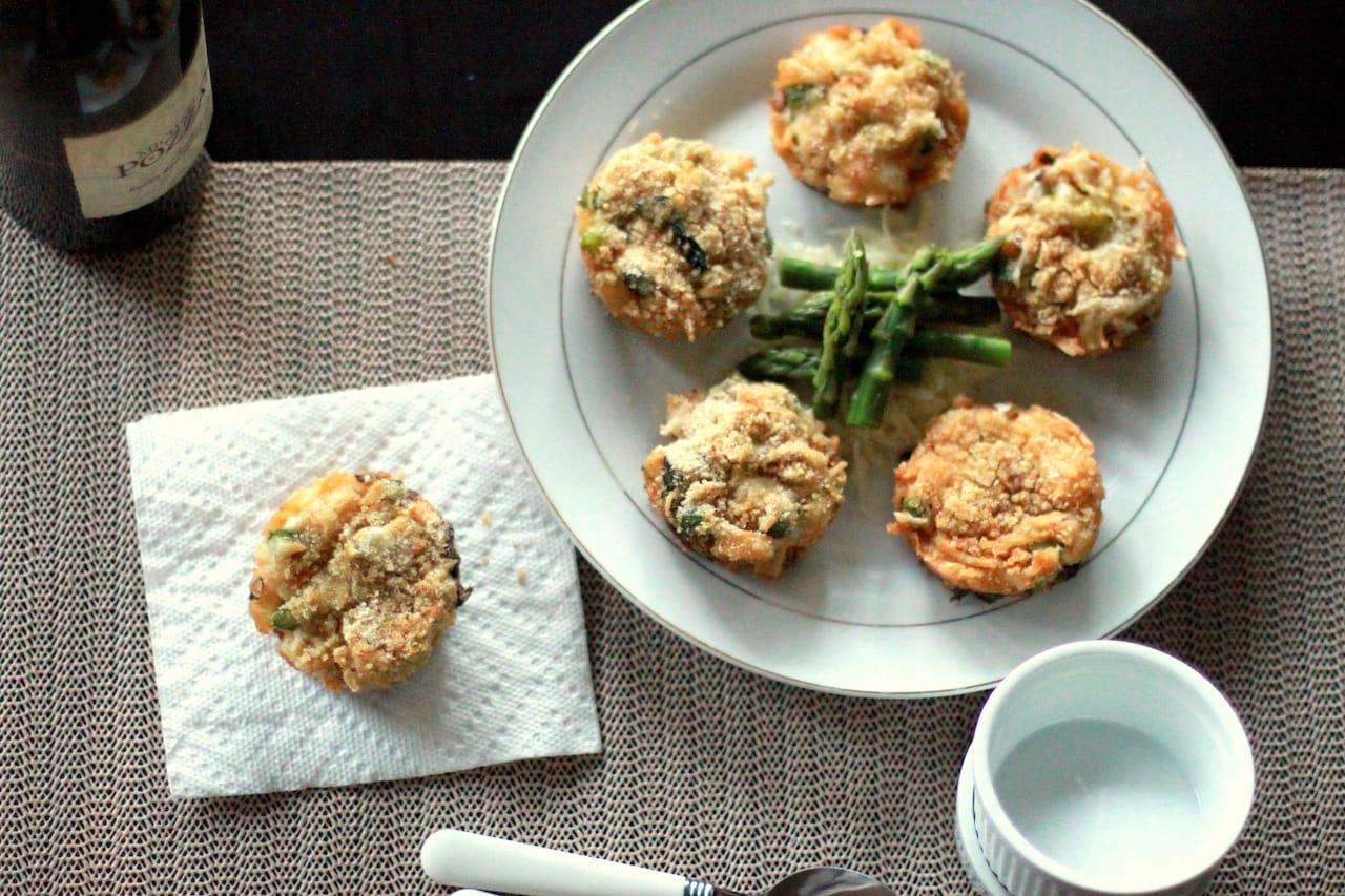 Mini Rotelle Pasta Muffins 3