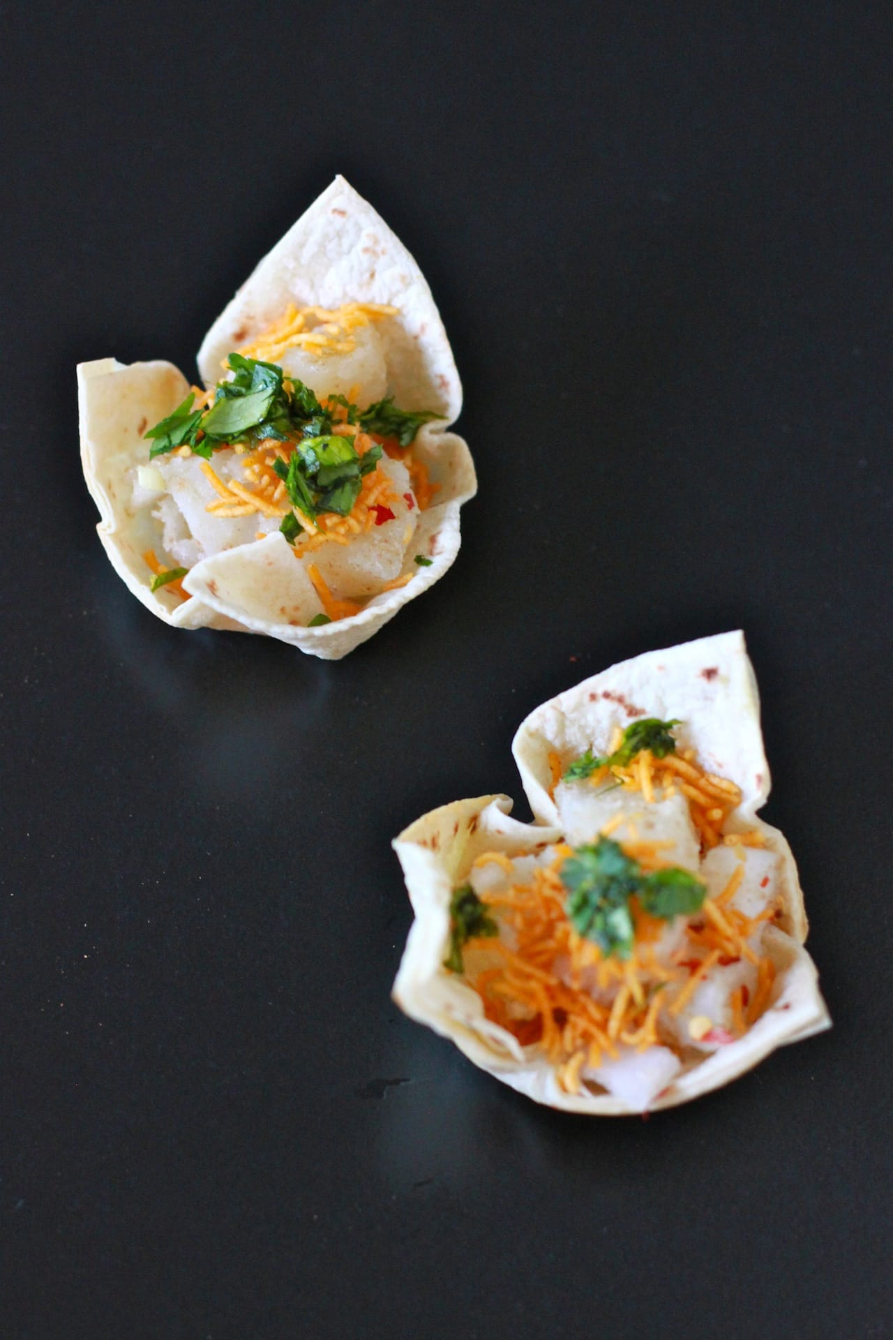 Tortilla Cups with Tangy Filling 2
