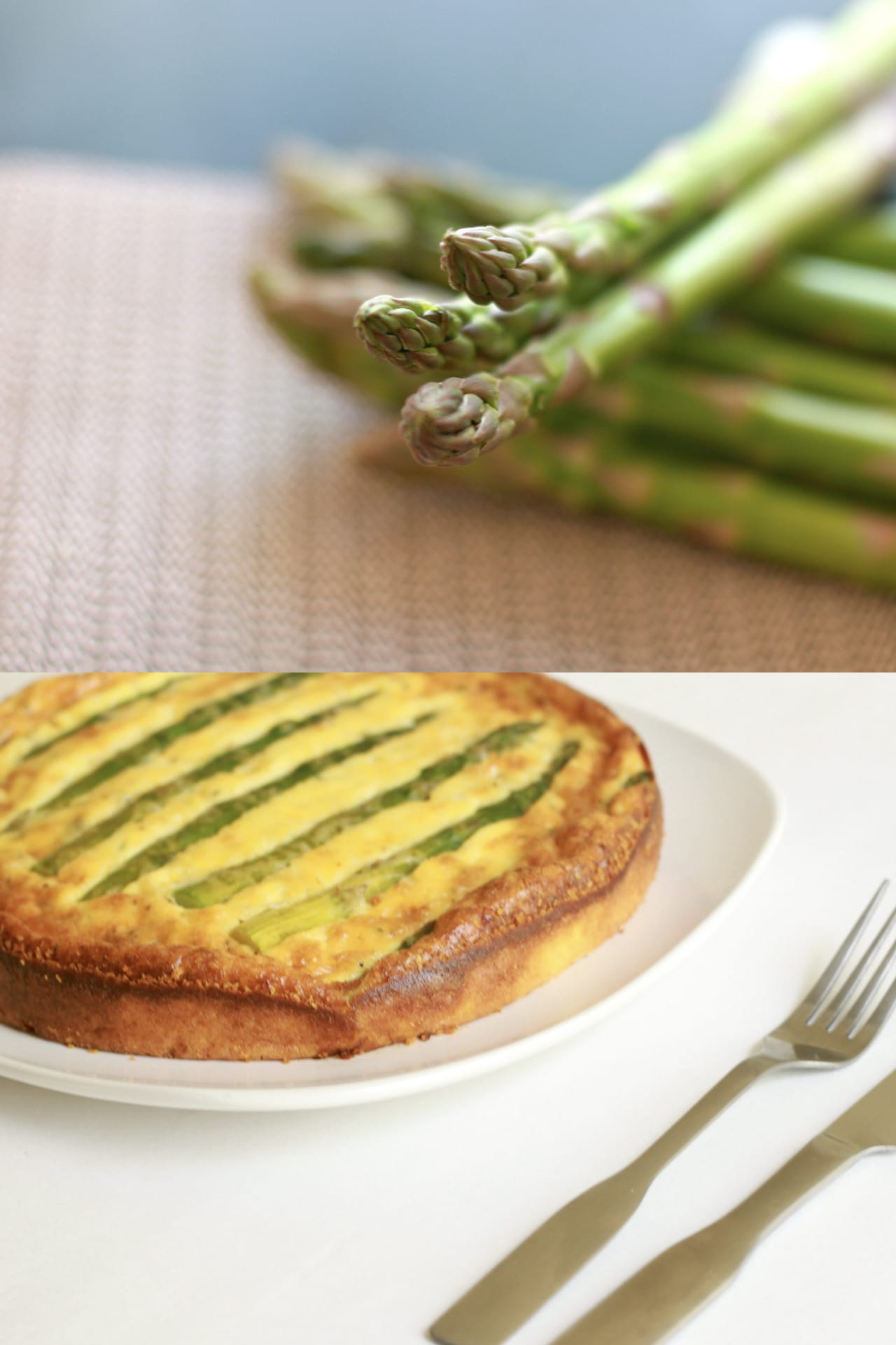 Asparagus and Shrimp Quiche 1