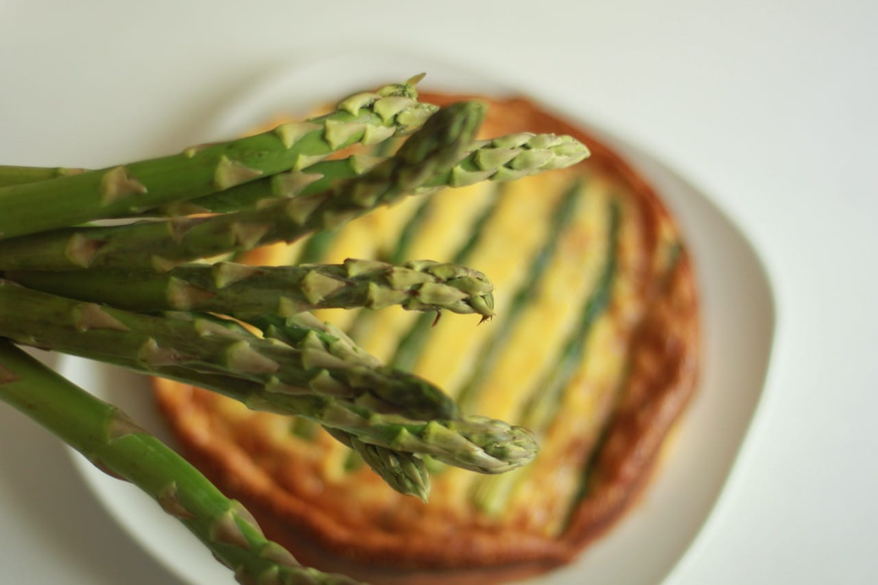 Asparagus and Shrimp Quiche 2