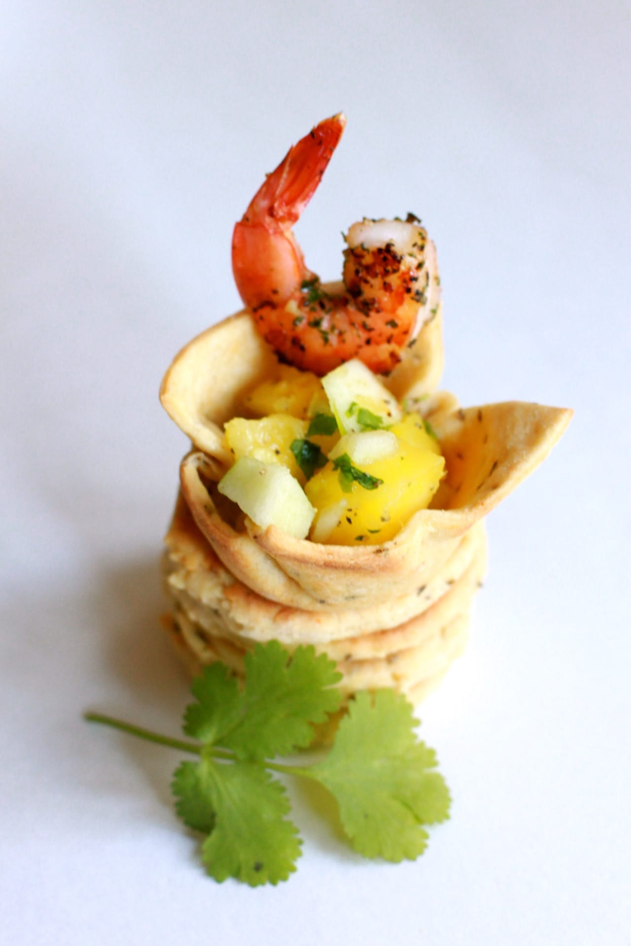 Shrimp Salad in a Savory Cup 5