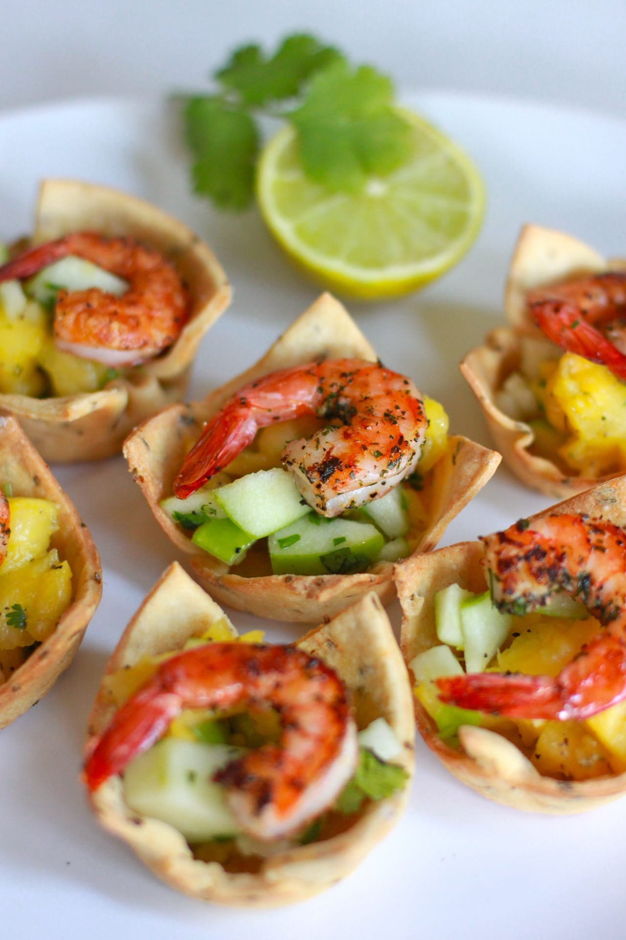 Shrimp Salad in a Savory Cup 2