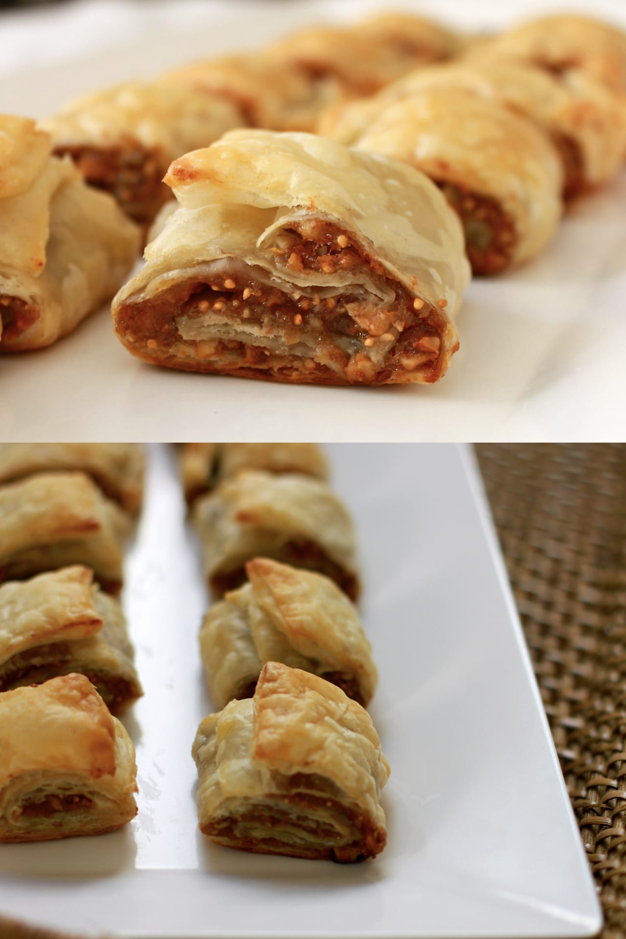 Dry Figs and Pecan Puff Rolls 2