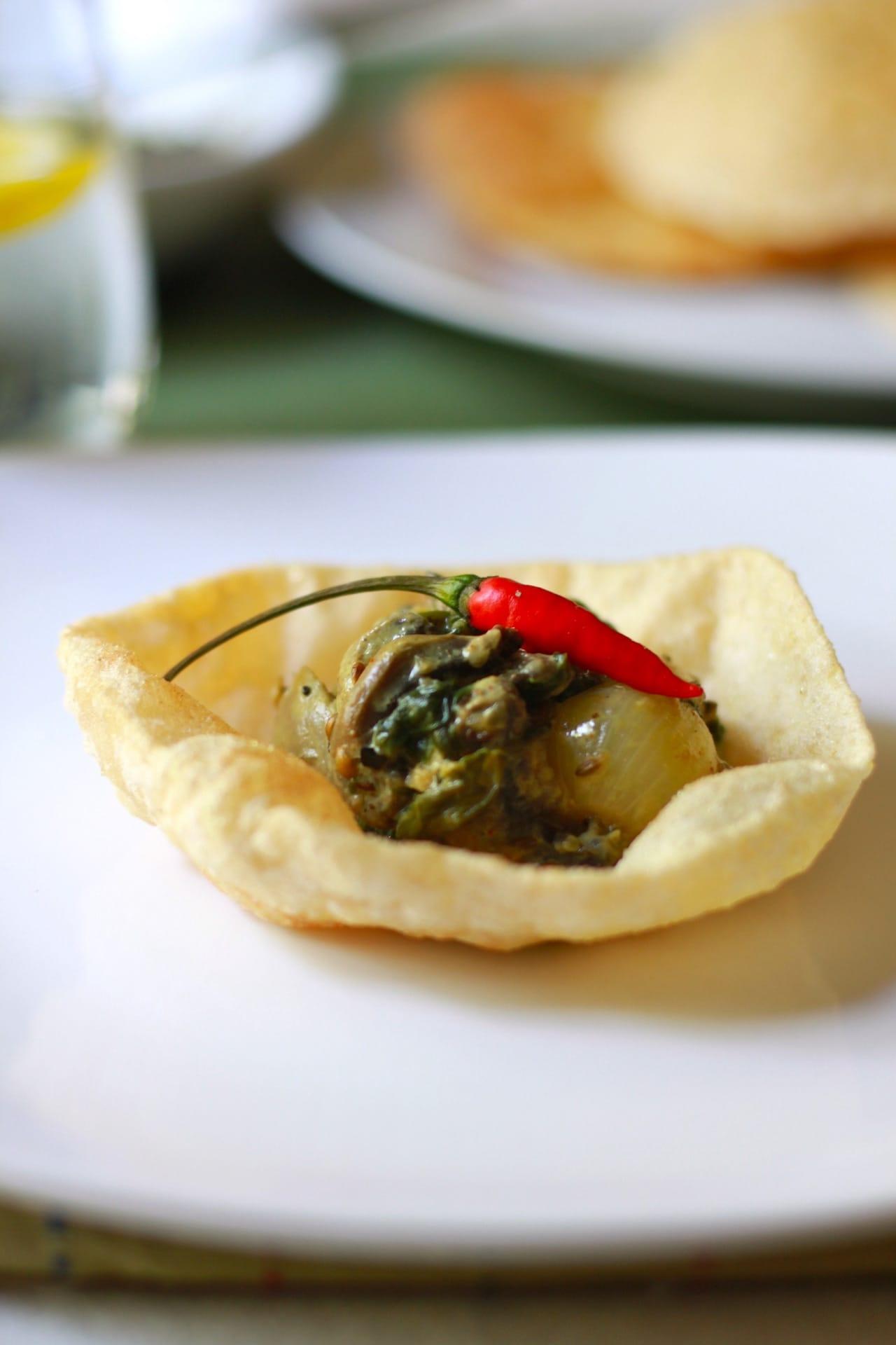 Creamy Spinach Mushroom 4