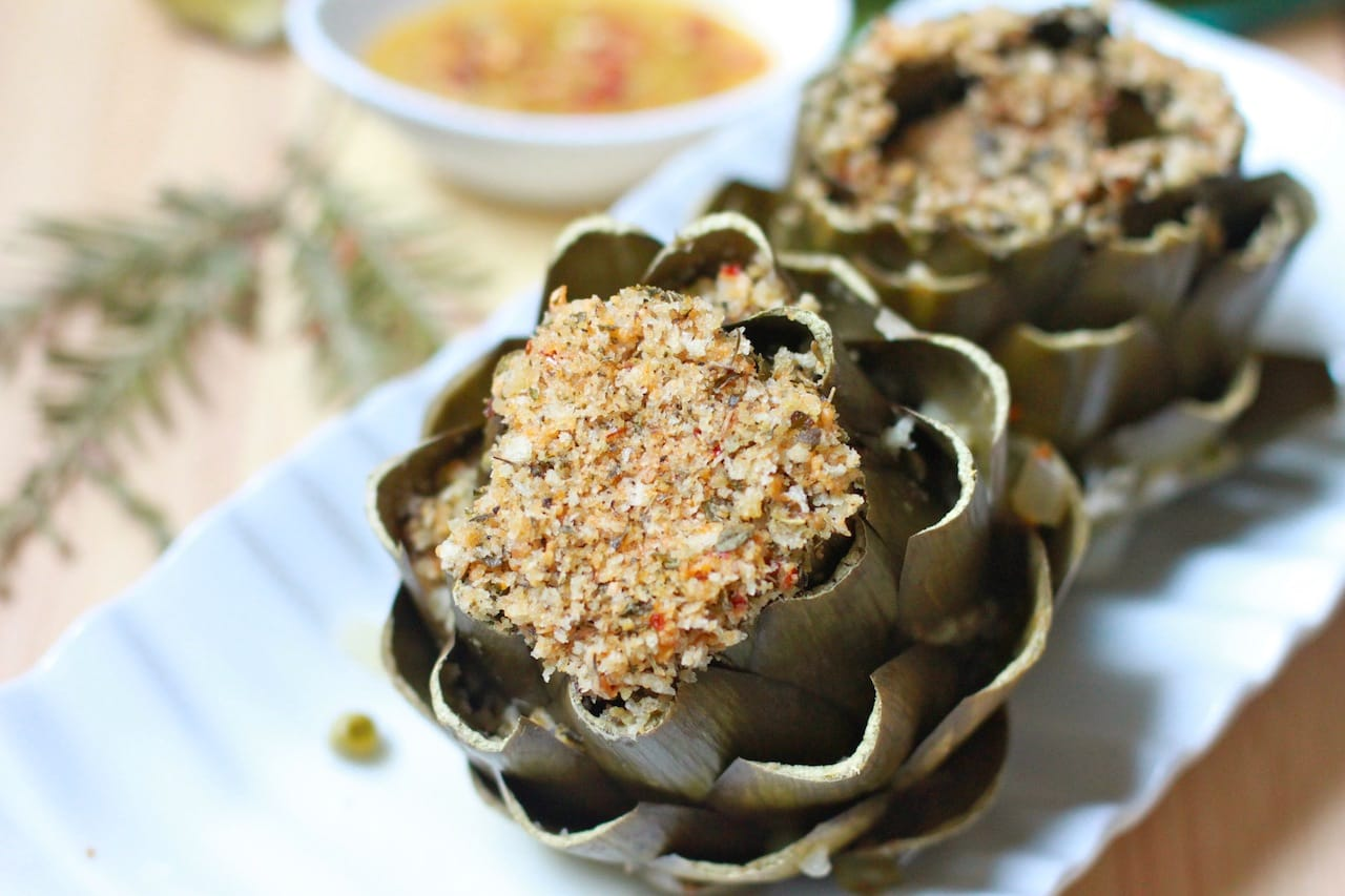stuffed artichoke 1