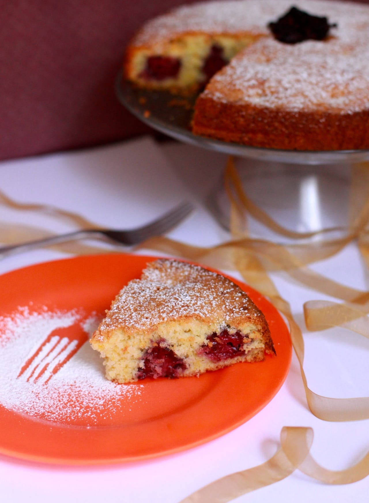 Olive Oil Cake with Blackberries 5