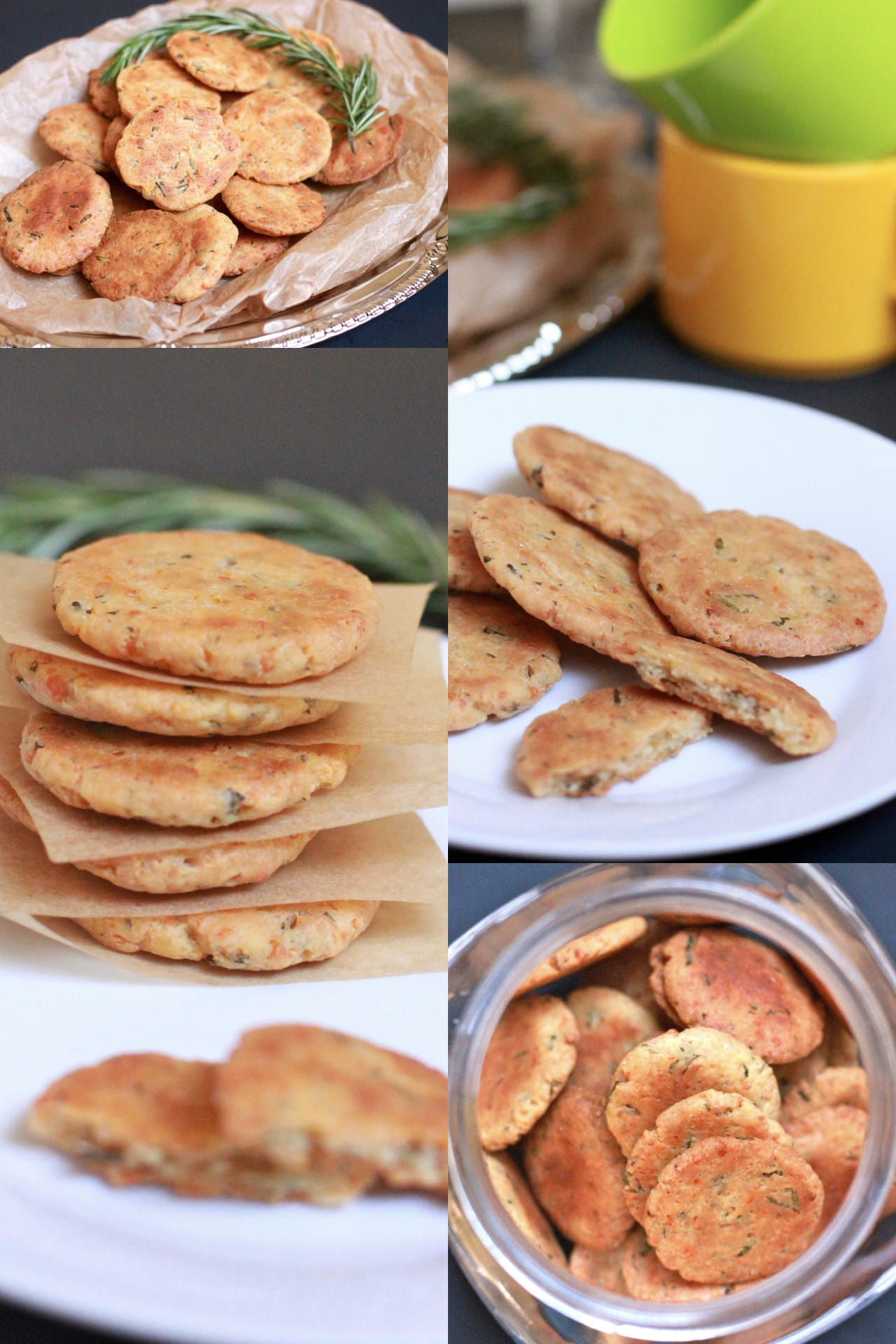 Rosemary and Parmesan Savory Cookies 2
