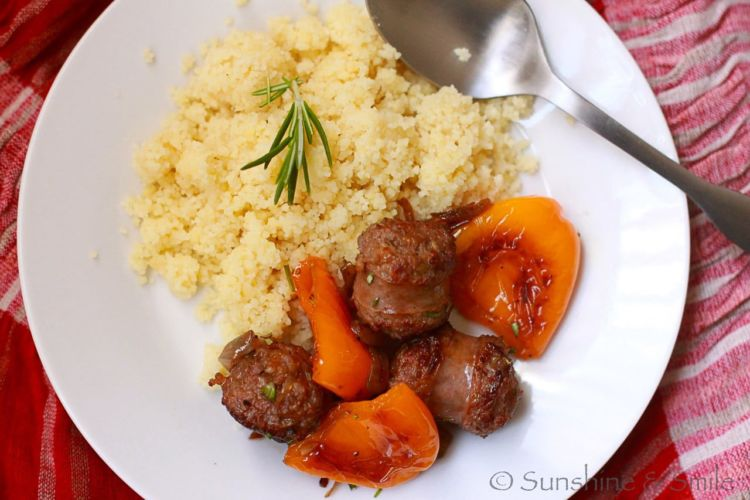 couscous and sausage 7