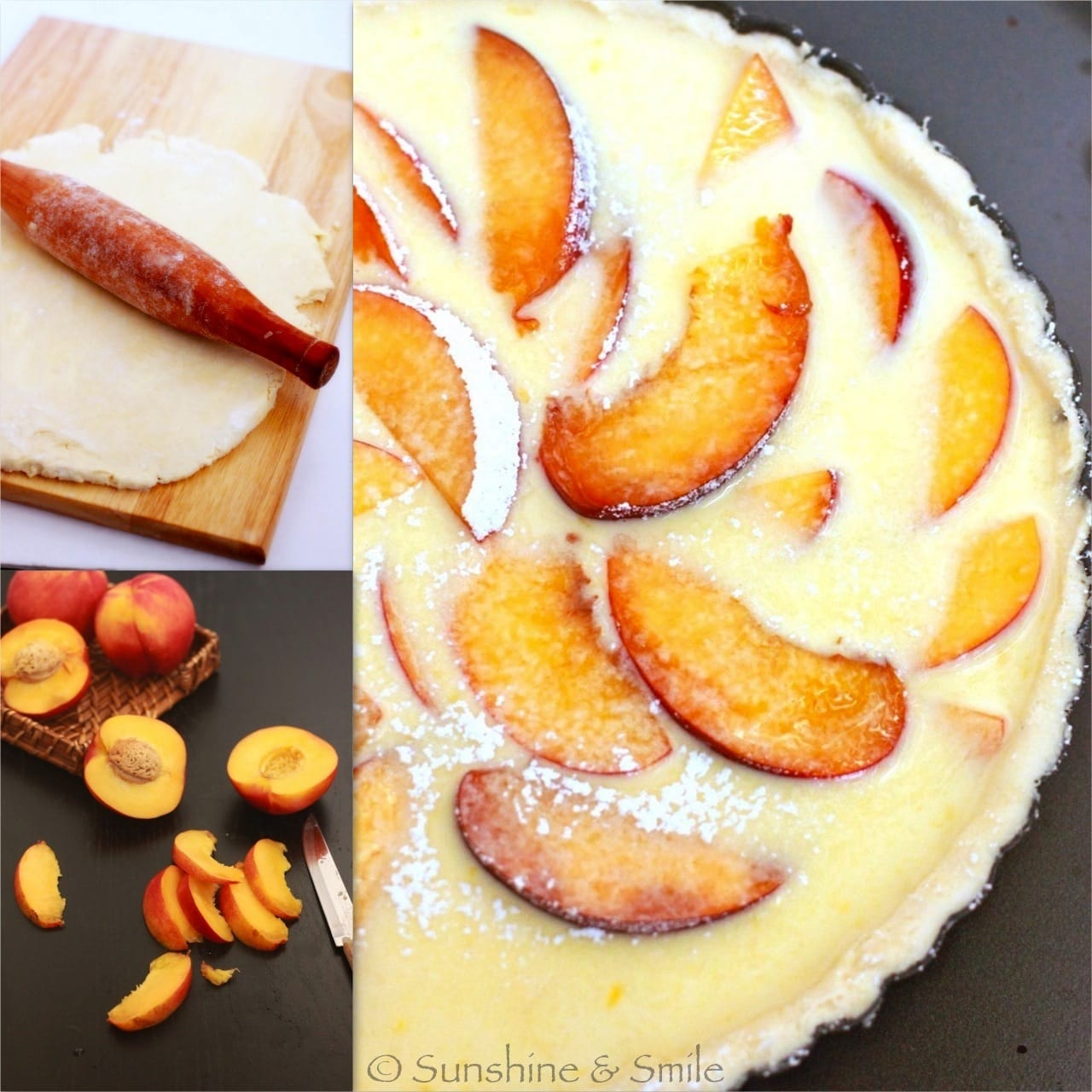 Flaky Tart with Peach and Ricotta 3