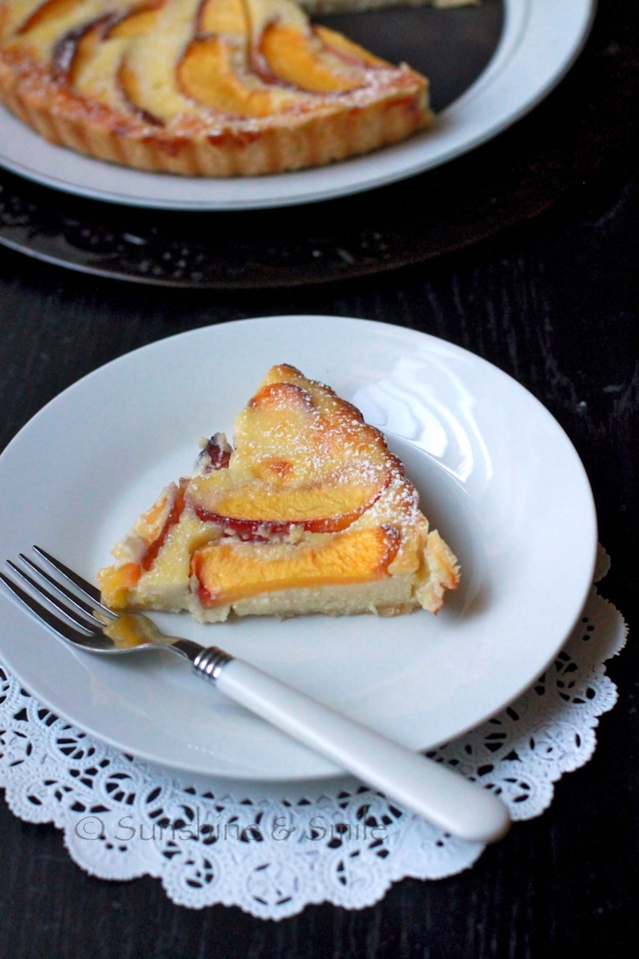 Flaky Tart with Peach and Ricotta 4