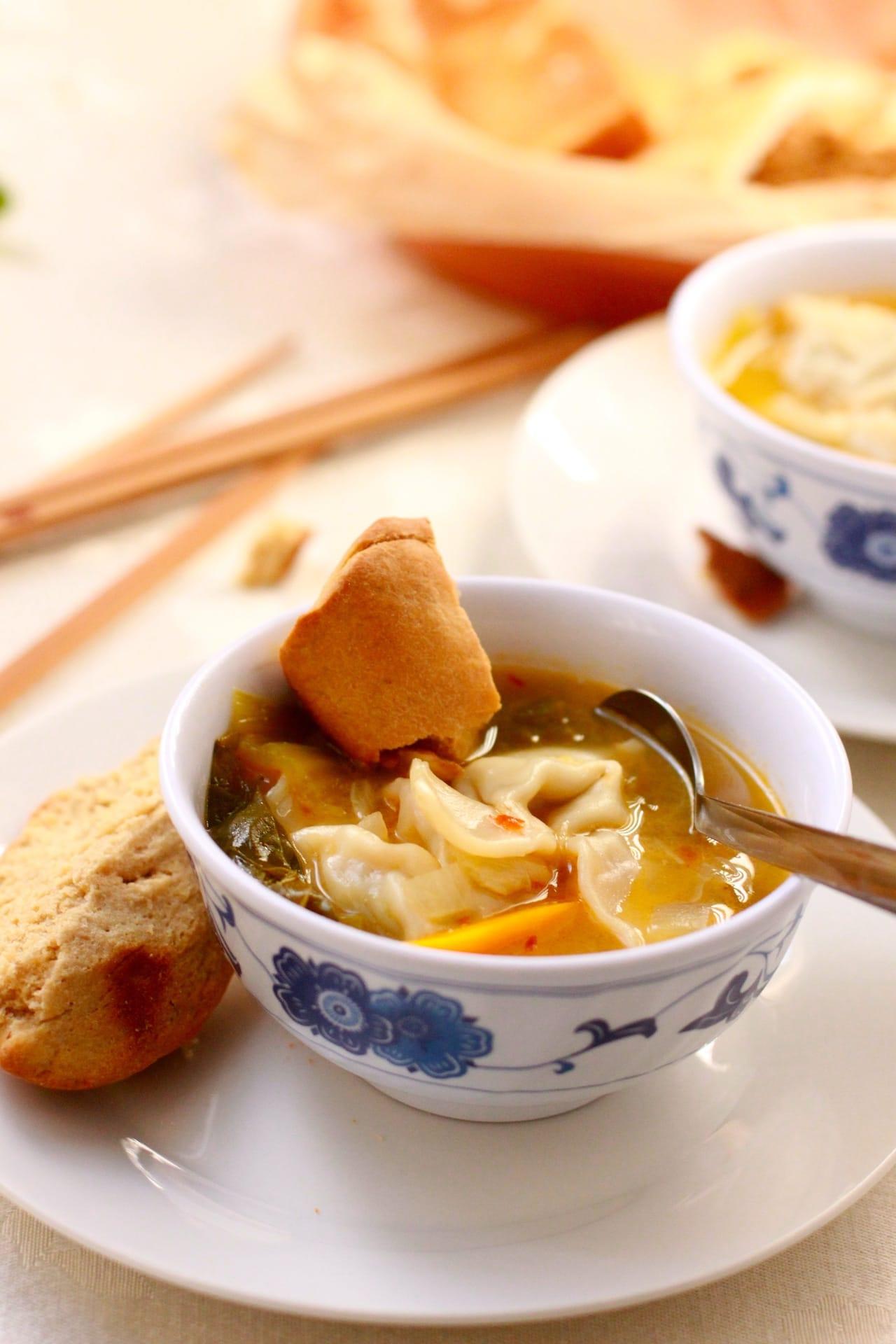 Chicken Wonton Soup 2